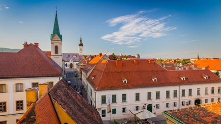 Explore the charming medieval old town of Zagreb on a trip to Croatia