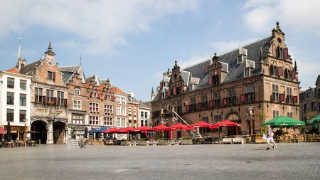 The centre of Nijmegen features these 17th-century buildings
