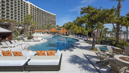 Make the most of your time at this Texas coastal resort by choosing one of the best hotels with a pool in Galveston