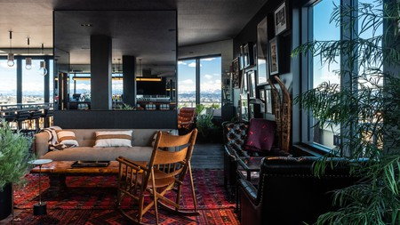 The Graduate Seattle has a warm ambience with great views –ideal for romance
