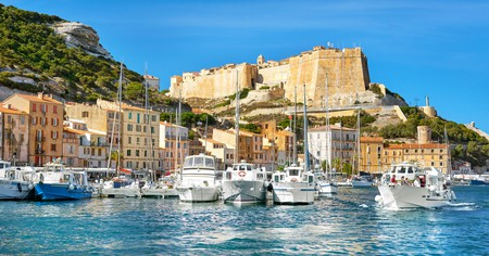 Bonifacio is a picturesque medieval fortress town with winding cobbled streets, chic seafood restaurants, boutique shops and local bars