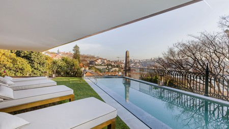 Take in the Douro River views from the pool at Torel AvantGarde
