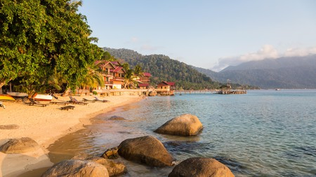 Tioman Island, off the east coast of peninsula Malaysia, is the epitome of barefoot luxe