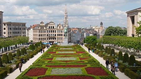 Mont des Arts Garden, Brussels