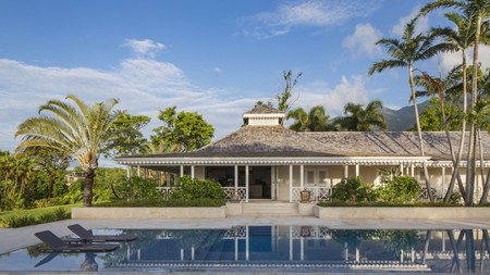 With six on-site bars and 10 tennis courts, the extensive grounds of Four Seasons, Nevis, is one of many luxury stays