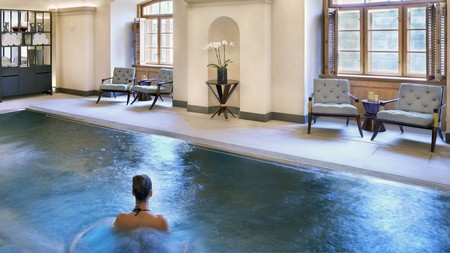 Get smarmed down with pink clay and juniper berries in an elegant city spa