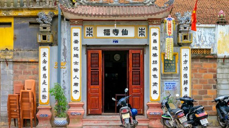 Venture our from your comfortable apartment and explore hidden-gems such as this temple in the Dong Da District of Hanoi, Vietnam