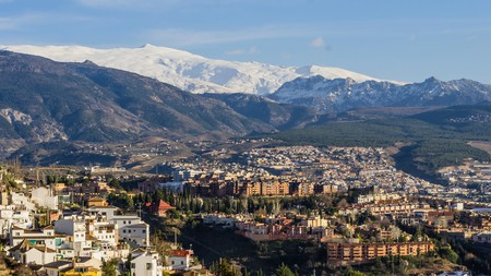 The Sierra Nevada in Andalucia, Spain