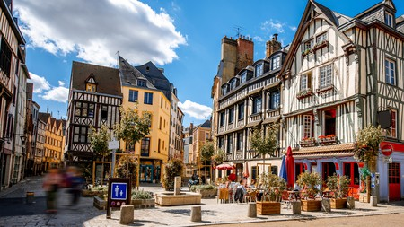 The medieval city of Rouen is a great base from which to explore northern France