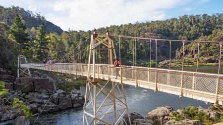 Alexandra Suspension Bridge in Launceston, Tasmania, is among the top sights when you book your stay here