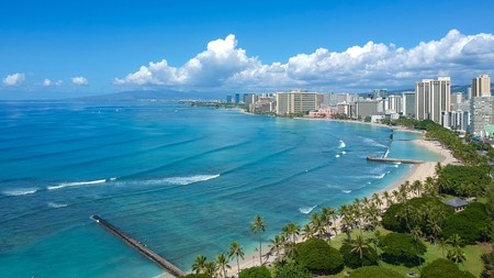 An apartment at Castle Waikiki Shore will set you up just steps from Waikiki Beach