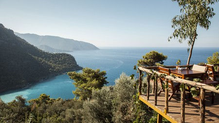 Alongside small-town charm, Fethiye has some unforgettable views such as Kabak Koyu Cove