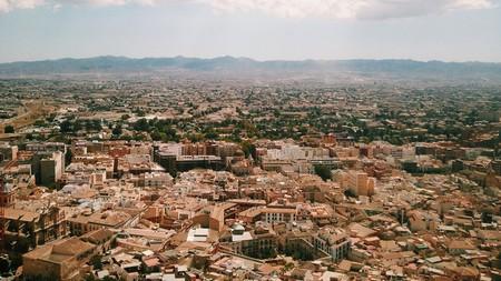 Enjoy views of Lorca and the surrounding mountains at the Parador de Lorca