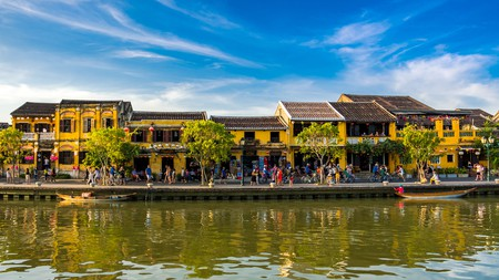Hoi An sits on the banks of the Thu Bon River