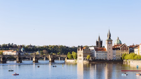 The Charles Bridge on the Vltava River – Prague has history, culture and scenery in abundance