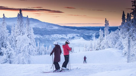 Åre has a wealth of pretty, tree-lined slopes – and some excellent hotels to stay in
