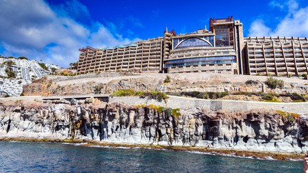 Gloria Palace Amadores Thalasso & Hotel in Puerto Rico de Gran Canaria is known for its impressive architecture