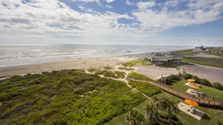 Soak up the magnificent ocean views on a trip to Galveston