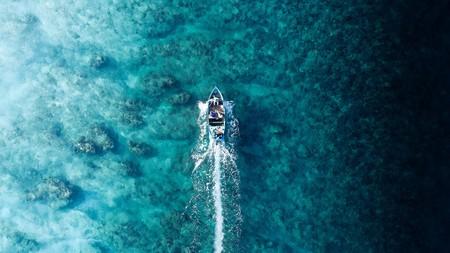 Fisherman in Fuvahmulah, Maldives heading to work