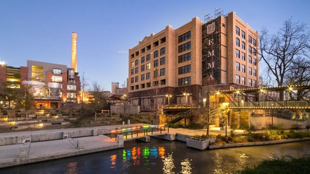 Hotel Emma in San Antonio is housed in an old brewery