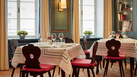 Salzburg's best hotels, such as Hotel Goldener Hirsch, reflect the city's traditional Austrian charm and centuries-old history