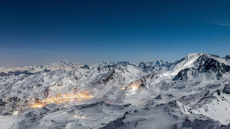Ski from some of the swankiest hotels in the French Alps at Val Thorens