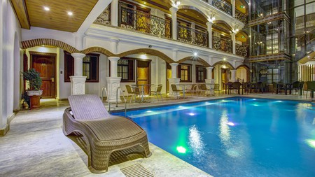 Hotel Luna is one of many beautiful hotels in Vigan City
