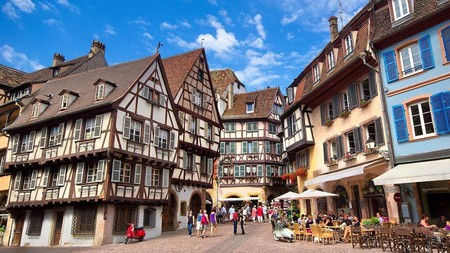 Colmar offers a glimpse into historic Alsatian architecture and culture, along with easy access to the surrounding vineyards