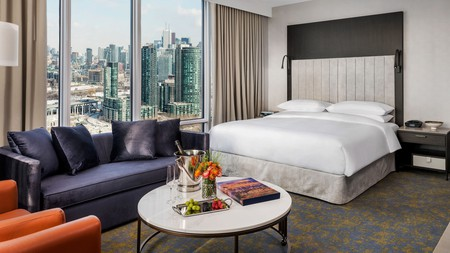 Hotel X Toronto is a luxury accommodation with incredible views from every room