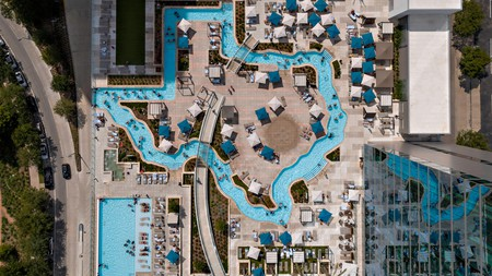 Find respite from the sizzling Texas heat at one of the best hotel pools in Houston