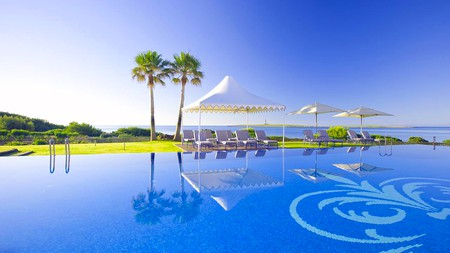 The Insotel Punta Prima on Menorca, Spain, has three pools to cool off in