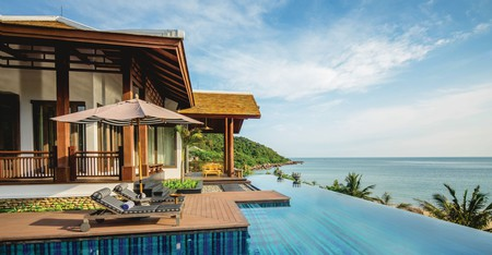The InterContinental, in Danang, is one of many high-end hotels offering a luxury stay in Vietnam