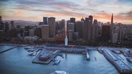 The Embarcadero stretches along San Francisco Bay, putting you comfortably close to SF's best-loved attractions