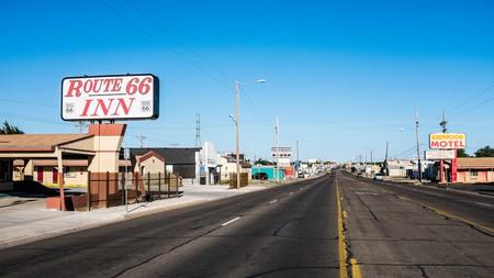 The historic Route 66 goes through Amarillo, Texas