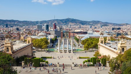 The Magic Fountain of Montjüic is one of many must-see attractions in Barcelona