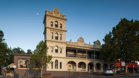 The stately Yarra Valley Grand is a National Trust-classified hotel