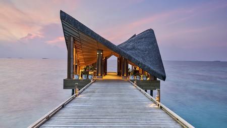 For a romantic escape, look no further than Joali Maldives
