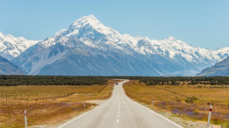 Soak up the scenery of Mount Cook on a trip to New Zealand