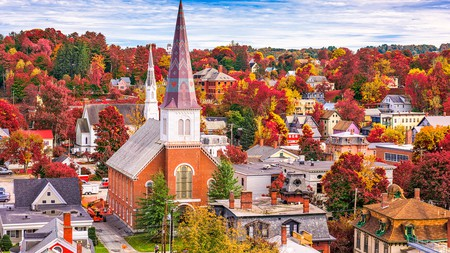 Montpelier is one many pretty towns to stay in while you're visiting Vermont