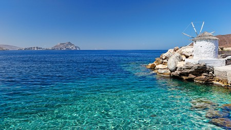 Amorgos is one of the most intriguing islands in Greece, with secret beaches, hidden caves and ancient footpaths