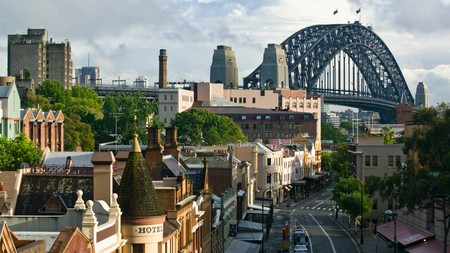 Sydney has some spectacular sights, not least a view of Sydney Harbour bridge from the Rocks