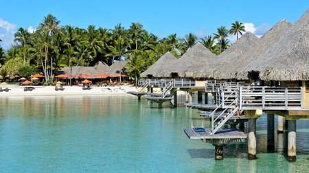 A stay at the InterContinental in Bora Bora, in the South Pacific, will be a memorable one