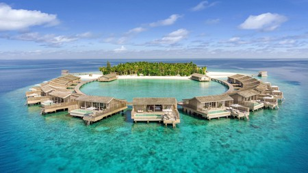 Kudadoo Maldives Private Island is home to just 15 over-water villas