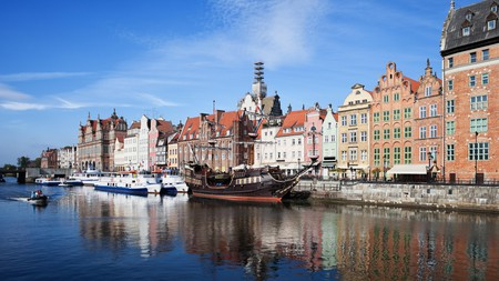 Stay in the historic heart of Gdańsk