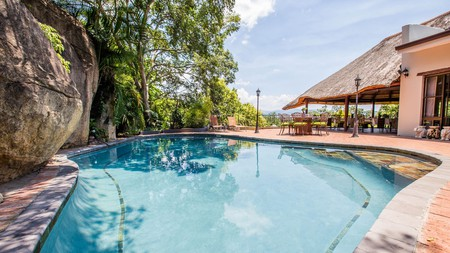 La Roca Guest House is a peaceful retreat after a day's safari in the nearby Kruger National Park