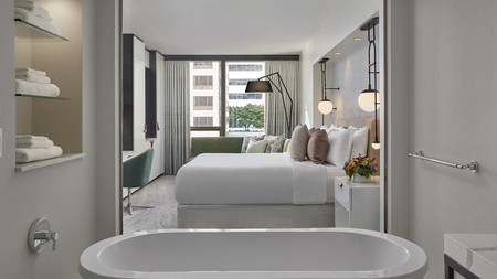 All kinds of indulgences are on offer at Loews Hotel 1000 Seattle
