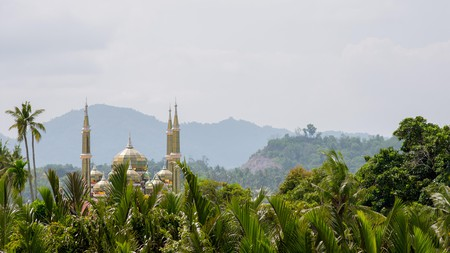 Kuala Terengganu is home to unique architecture – including the Crystal Mosque or Masjid Kristal