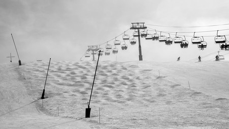 The pretty French village of Les Gets has some excellent pistes – as well as rustic charm