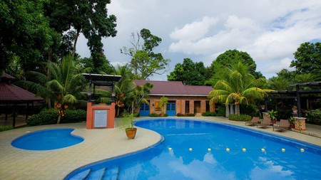 The Malagos Garden Resort has a host of amenities, including an outdoor pool