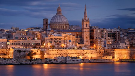 A journey to see Malta's sights – such as St Paul's Anglican Cathedral and Carmelite Church – doesn't have to be expensive